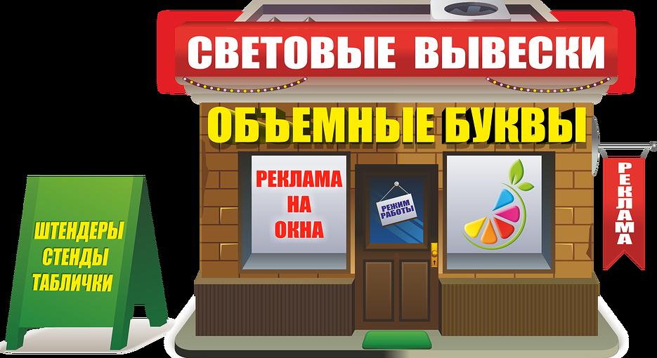 Наружная реклама в Одинцово