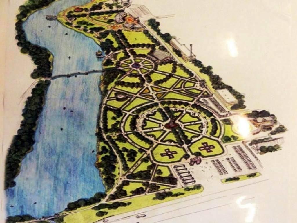 первый этап строительства нового парка за 300 млн рублей